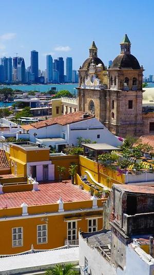 העיר קרטחנה, קולומביה