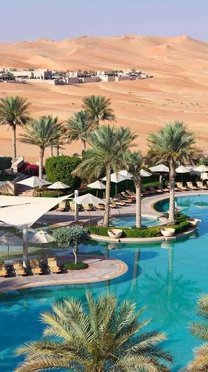 מלון Qasr Al Sarab באיחוד האמירויות הערביות. אתר המלון, אתר רשמי