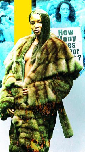 תצוגת אופנה פנדי 1997 פרווה פרוות
