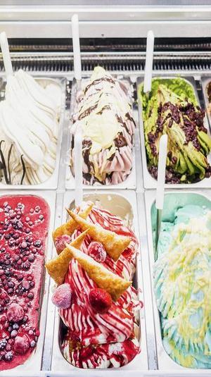 מקרר גלידה. ShutterStock
