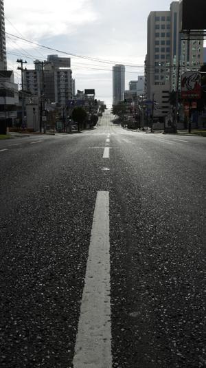 כביש בפנמה סיטי בצל התפשטות הקורונה, אוגוסט 2020