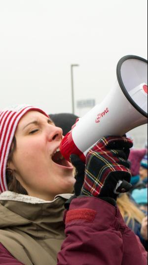 צעדה ליום זכויות האדם. ShutterStock