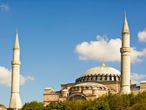 מסגד איה סופיה באיסטנבול, טורקיה
