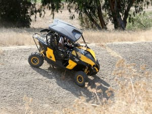 השקה קאן אם מווריק Can-Am Maverick 1000