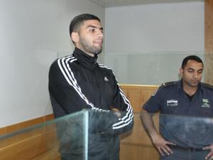 עוביידה חטאב, שחקן הפועל תל אביב, מובא להארכת מעצר