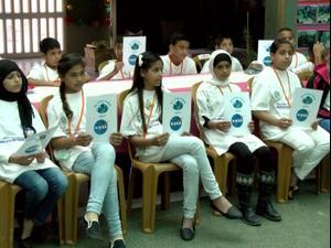 לימודי טכנולוגיה מטעם נאסא בבית ספר בדואי ברהט