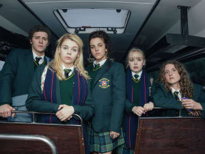 "קטע מתוך ""Derry Girls"", נערות דרי"