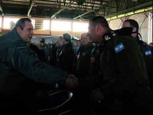 """חיילים מאירופה, ארה""""ב, איחוד האמירויות וישראל השתתפו בתרגיל צבאי בבסיס אנדרבידה שביוון. שי מכלוף"""