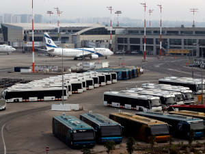 שדה התעופה בן גוריון, 10 במרץ 2020