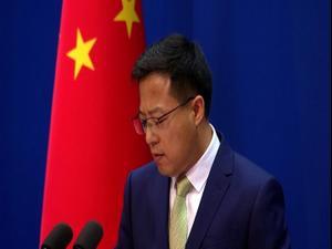 סין מוחה נגד חוק האויגורים שעבר בקונגרס האמריקני 29.06.20