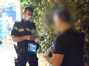 פעולות אכיפה של משטרת ישראל בראשון לציון 10.07.20