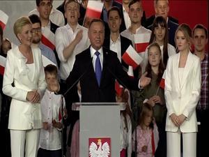תוצאות סופיות בבחירות בפולין: ניצחון לנשיא הלאומני אנדז'יי דודה 13.7.20