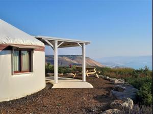 יורט באיי גאלי בגבעת יואב רמת הגולן