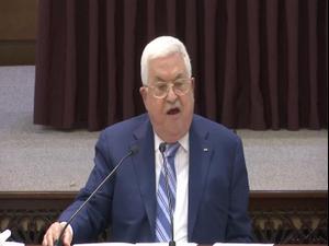 אבו מאזן בכנס עם חמאס והג'יהאד: ההסכם עם האמירויות - דקירה בגב 19.8.20. רויטרס