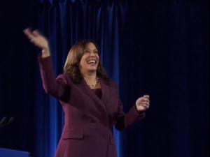 """קמלה האריס מונתה רשמית למועמדת לסגנית הנשיא: """"ניצור קהילה אוהבת"""" 20.8.20. רויטרס"""