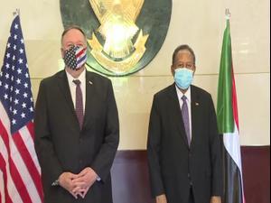 """ארה""""ב: התפתחויות חיוביות ביחסי סודאן וישראל"""