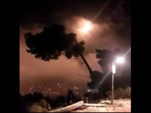 """צה""""ל תקף בדרום לבנון בתגובה לירי חיזבאללה 26.8.20"""