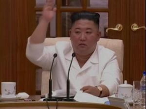"""קים כינס ישיבת ממשלה להתמודדות עם נגיף הקורונה ועם איומי טייפון """"באווי"""" 26.08.20"""