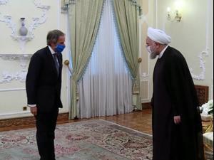 רוחאני בפגישה עם יו״ר סבא״א: ״נמשיך לשתף פעולה״ 26.08.20