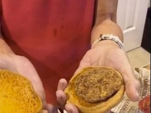 המבורגר של מקדונלדס שנשמר במשך 24 שנים