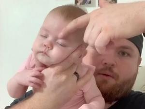 טריק להרדמת תינוק בוכה