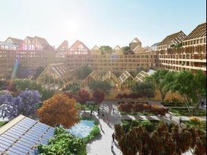 עיר חכמה שנבנית בסין לעידן פוסט הקורונה