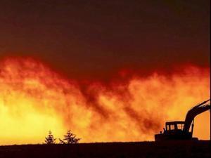 השריפות בחוף המערבי: אלפים נמלטים מקליפורניה וושינגטון ואורגון 11.09.20