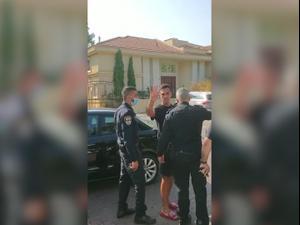 ערן זהבי ערך מסיבה בביתו - ונעצר לאחר שסירב להזדהות בפני השוטרים 11.09.20