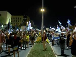 אלפים הפגינו נגד נתניהו בי-ם ובקיסריה; העצמאים הצטרפו למחאה 12.9.20