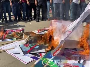 הפגנות בבחריין ובעזה נגד ההסכם הנורמיליזציה עם ישראל  15.9.20