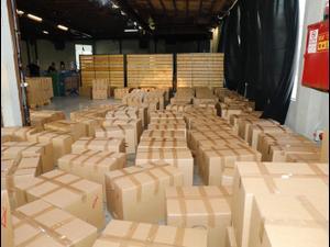 חלוקת מזון לנזקקים בנמל תל אביב