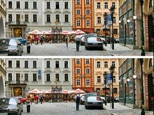 חיפוש הבדלים בין התמונות של סוכנות ה-CIA