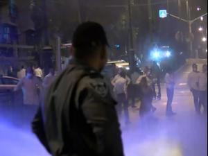 מאות הפגינו בבני ברק נגד הסגר בחגים 20.09.20