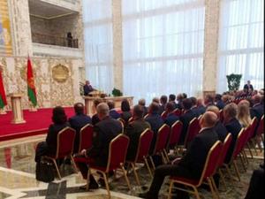 בטקס חשאי וסגור: לוקשנקו הושבע לקדנציה נוספת כנשיא בלארוס 23.9.20