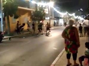תקיפת מפגינים בשכונת שפירא, ת״א