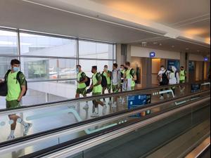 מכבי חיפה ממריאה למשחק מול טוטנהאם