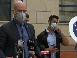 """הצהרות שר הבריאות, השר לבט""""פ ומ""""מ המפכ""""ל במחוז תל אביב של המשטרה 29.09.20"""