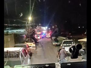 זירת דריסת השוטר בדבוריה 29.09.20