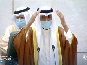 אמיר כוויית החדש, נוואף אחמד א-צבאח בן ה-83, הושבע לתפקידו 30.9.20
