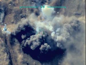 """תיעוד: הפעלת מל""""ט מתאבד מתוצרת ישראל בקרבות בנגורנו-קרבאך 1.10.20"""