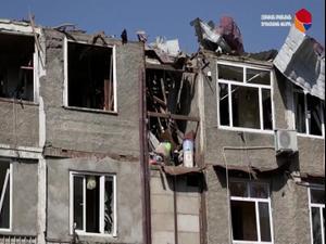 ארמניה מציגה את הנזקים בנגורנו-קרבאך, בבאקו חגגו כיבוש שטחים  4.10.20