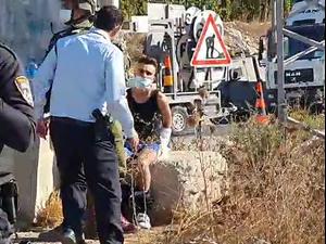 חשד לניסיון פיגוע דקירה ליד חברון; החשוד נעצר 5.10.20