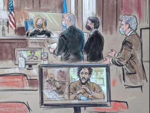 """שני חברי """"הביטלס"""" של דאעש הובאו בפני בית המשפט בארה""""ב 10.10.20"""