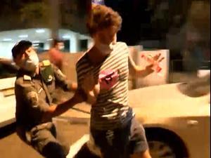 מחאה נגד נתניהו: עימותים בין שוטרים למפגינים בתל אביב 10.10.20