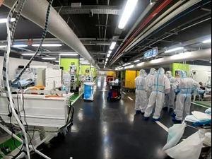 """לראשונה: צה""""ל יטפל באזרחים חולי קורונה בבית החולים רמב""""ם 11.10.20"""