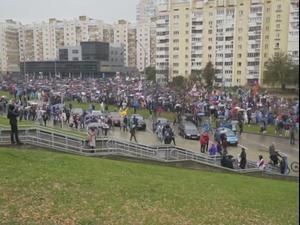 בלארוס: המשטרה קיבלה אישור לפתוח באש על המפגינים 12.10.20