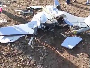 """מל""""ט מהלחימה בנגורנו-קרבאך נפל בצפון איראן  13.10.20"""