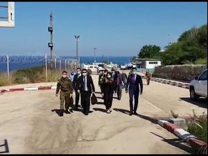 חיזבאללה עוקב אחרי שיחות שרטוט הגבול בין ישראל ללבנון  15.10.20