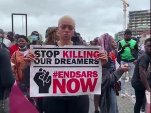 ניגריה: למרות הרפורמה, המונים יצאו להפגין נגד אלימות המשטרה 16.10.20