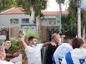 תקיפת מפגינים נגד נתניהו בחיפה, 17 באוקטובר 2020